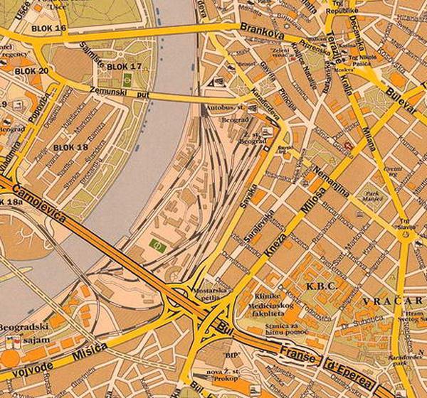 mapa b92 beograd ulice May | 2010 | Traganje za gradom mapa b92 beograd ulice