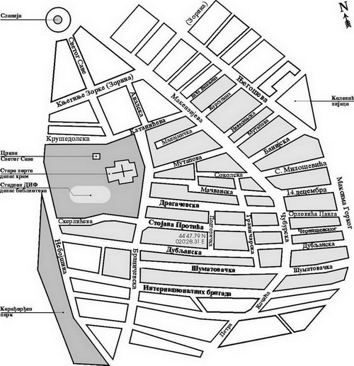 mapa vracara beograd Traganje za gradom | Đorđe Bobić | Strana 49 mapa vracara beograd