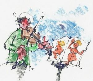 Violinista i note _1