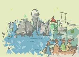 bgdnv iz čamca OVO